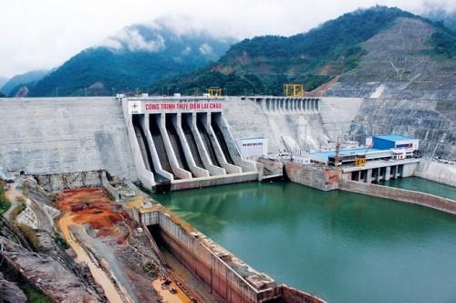 Hòa đồng bộ tổ máy số 3 Dự án Nhà máy Thủy điện Lai Châu vào lưới điện quốc gia