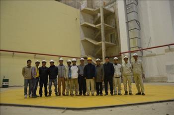 Phát điện tổ máy 1 công trình Thủy điện Trung Sơn