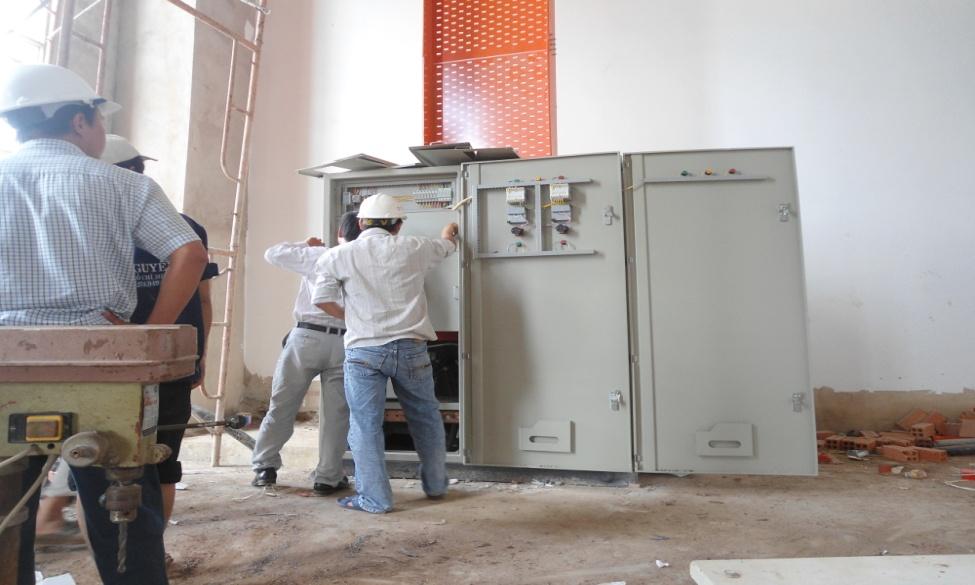Nhà máy SX cọc vách nhựa uPVC- KCN Hiệp Phước, Nhà Bè