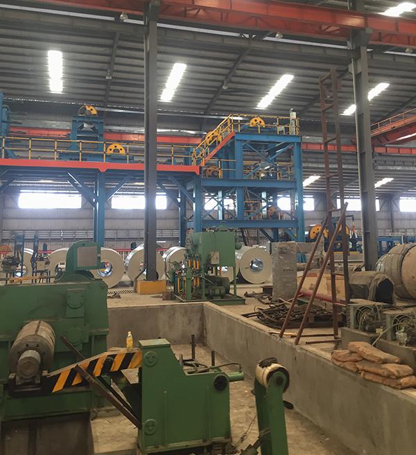 nhà máy thép NM
