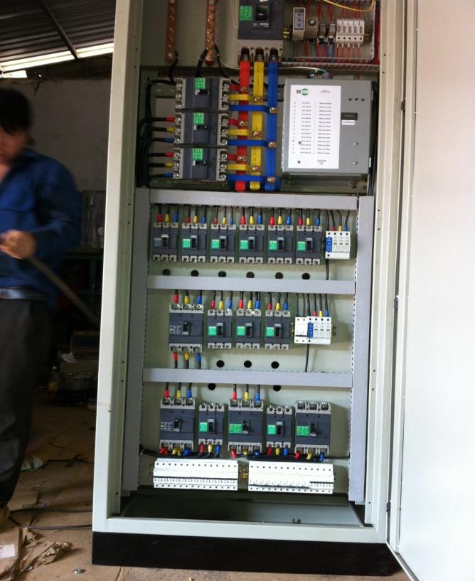Tủ điện - KCN LONG ĐỨC-ĐỒNG NAI