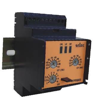 Relay bảo vệ sai lệch tần số – FPR602